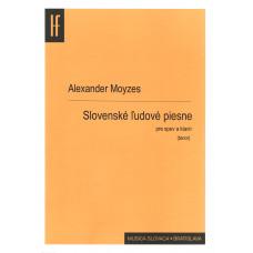 Alexander Moyzes: Slovenské ľudové piesne (pre tenor a klavír)