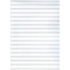 notový papier B4-20