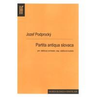 Jozef Podprocký: Partita antiqua slovaca
