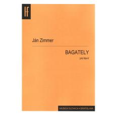 Ján Zimmer: Bagately pre klavír