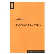 Ján Zimmer: Sonáta pre klavír č. 3