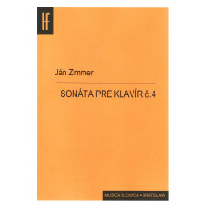 Ján Zimmer: Sonáta pre klavír č. 4