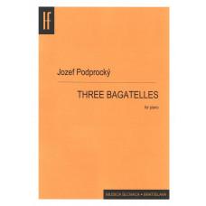 Jozef Podprocký: Three bagatelles for pianoo; Op.1. No 1c