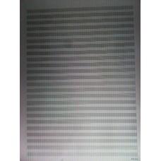 notový papier A3-24