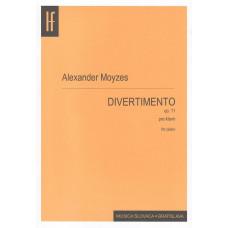 Alexander Moyzes: Divertimento pre klavír; op. 11