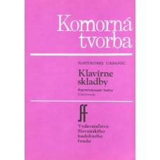 Bartolomej Urbanec: Klavírne skladby (k vernisáži Márie Želibskej)