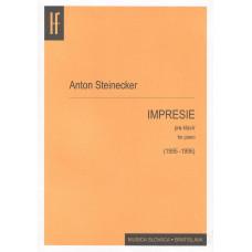 Anton Steinecker: Impresie I. - VIII. pre klavír