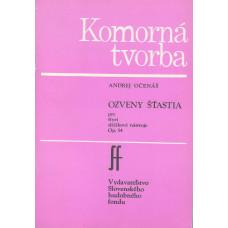 Andrej Očenáš: Ozveny šťastia pre štyri sláčikové nástroje; Op.54