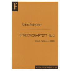 Anton Steinecker: Sláčikové kvarteto č. 2