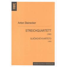 Anton Steinecker: Sláčikové kvarteto (dvojčasťové)