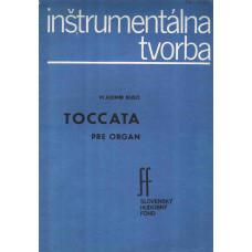 Vladimír Rusó: Toccata pre organ