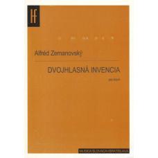 Alfréd Zemanovský: Dvojhlasná invencia pre klavír