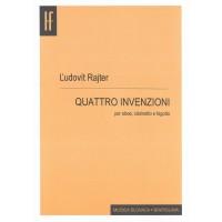 Ľudovít Rajter: Quatro invenzioni per oboe; clarinetto e fagotto