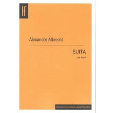 Alexander Albrecht: Suita pre klavír