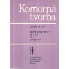 Andrej Očenáš: Donquijotská suita pre husle a violončelo; op. 40