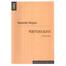 Alexander Moyzes: Poetická suita pre husle a klavír