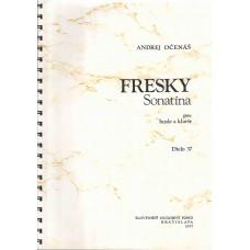 Andrej Očenáš: Fresky; sonatina pre husle a klavír; op. 37