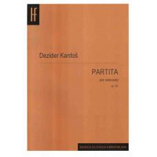 Dezider Kardoš: Partita pre violu sólo; op. 56