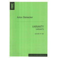 Anton Steinecker: Varianty pre klarinet