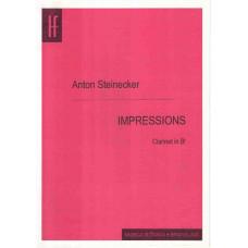 Anton Steinecker: Impressions pre klarinet in B