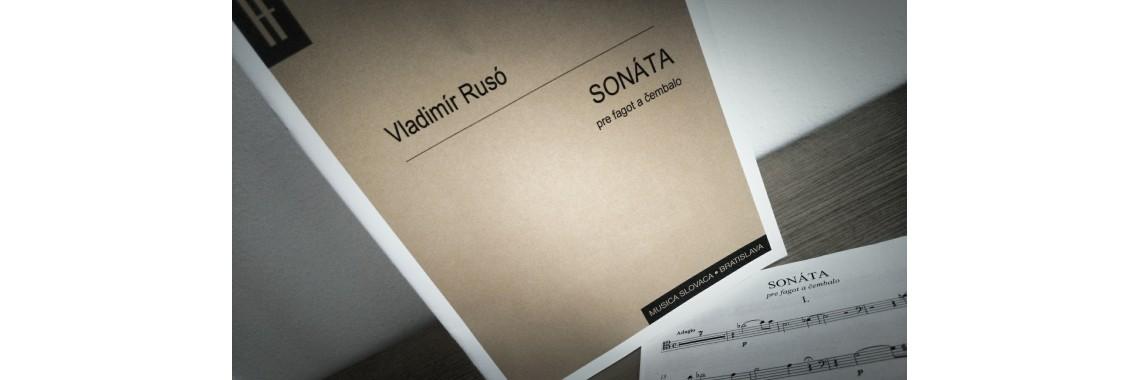 Vladimír Rusó: Sonáta pre hoboj a klavír