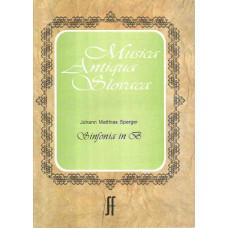 Johann Mathias Sperger: Sinfonia in B