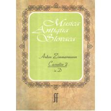 Anton Zimmermann: Kasácia D dur č. 2